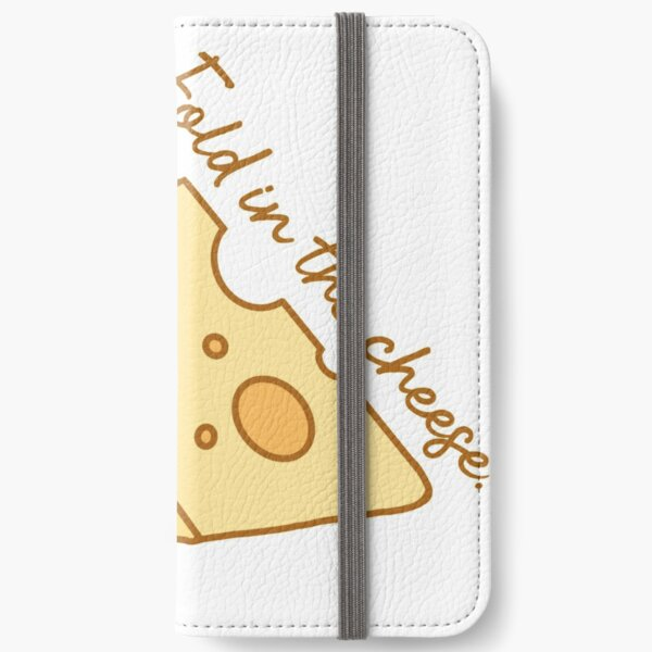 Fold in the cheese. iPhone Wallet