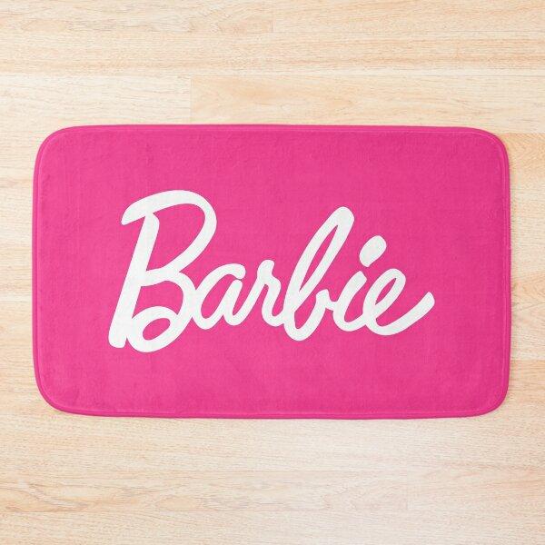 barbie face Bath Mat