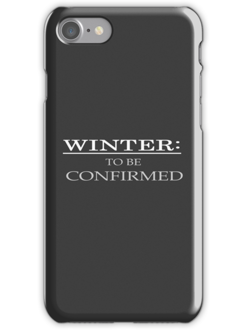 Winter: To Be Confirmed. by TapThatKeyboard