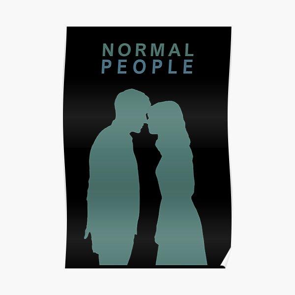 Gente normal - póster Póster