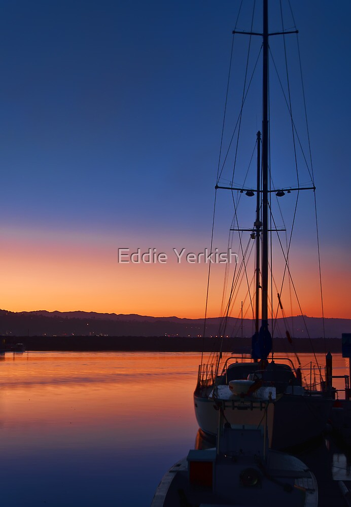 Harbor Sunrise by Eddie Yerkish