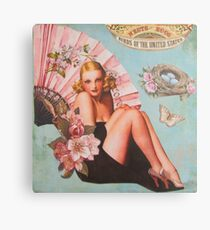 Pinup Girls: Birds & Nests Canvas Print