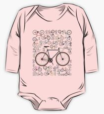 Love Fixie Road Bike One Piece - Long Sleeve