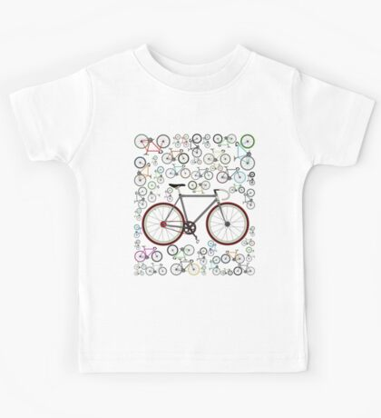 Love Fixie Road Bike Kids Clothes