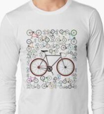 Love Fixie Road Bike Long Sleeve T-Shirt