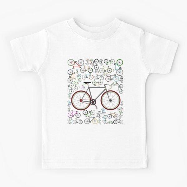 Love Fixie Road Bike Kids T-Shirt