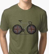 British Cycling is Brilliant Tri-blend T-Shirt