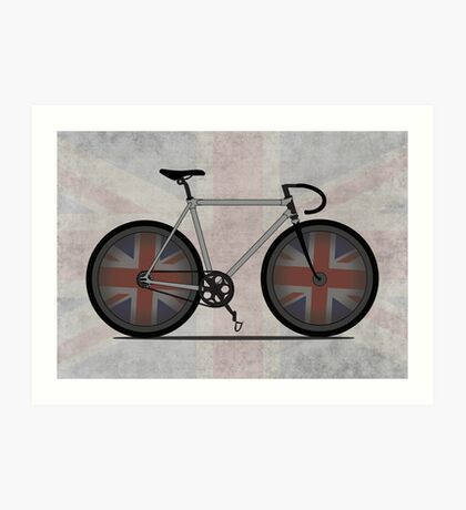British Cycling is Brilliant Art Print