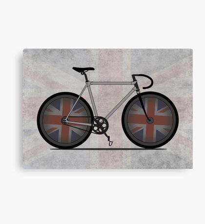 British Cycling is Brilliant Canvas Print