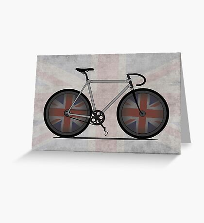 British Cycling is Brilliant Greeting Card