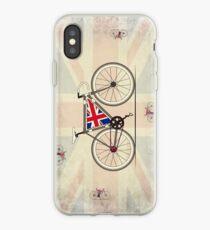 Love Bike, Love Britain iPhone Case