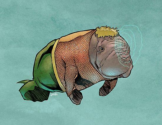 Aquamanatee by jomiha