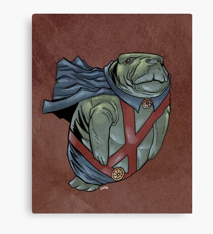 Martian Manatee Hunter SALE! Canvas Print