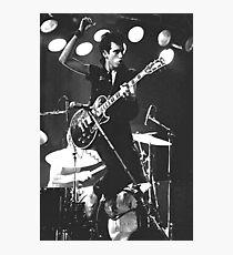 Mick Jones, The Clash #2 Photographic Print