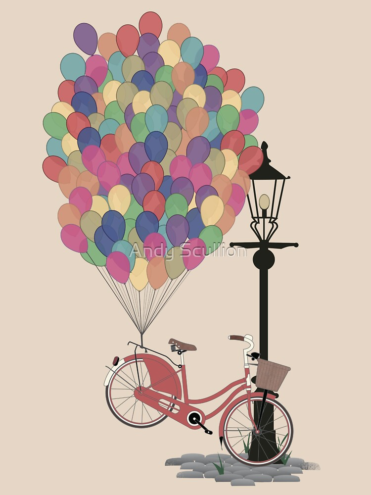 Love to Ride my Bike with Balloons even if it's not practical. | Women's T-Shirt