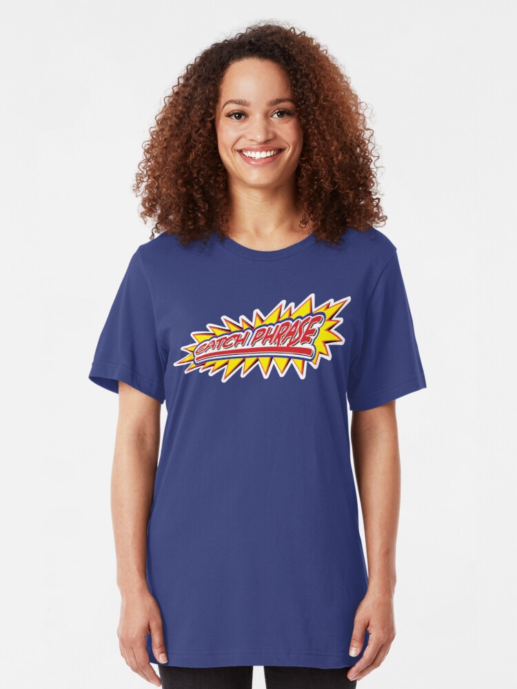 Alternate view of Catch Phrase Slim Fit T-Shirt