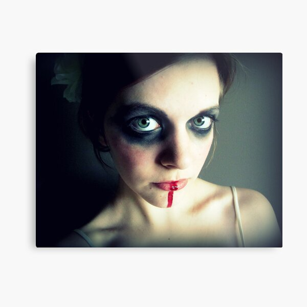 Touch Me And You'll Be More Than Alarmed Metal Print
