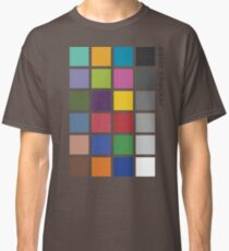 Photographer's Color Checker tee Classic T-Shirt