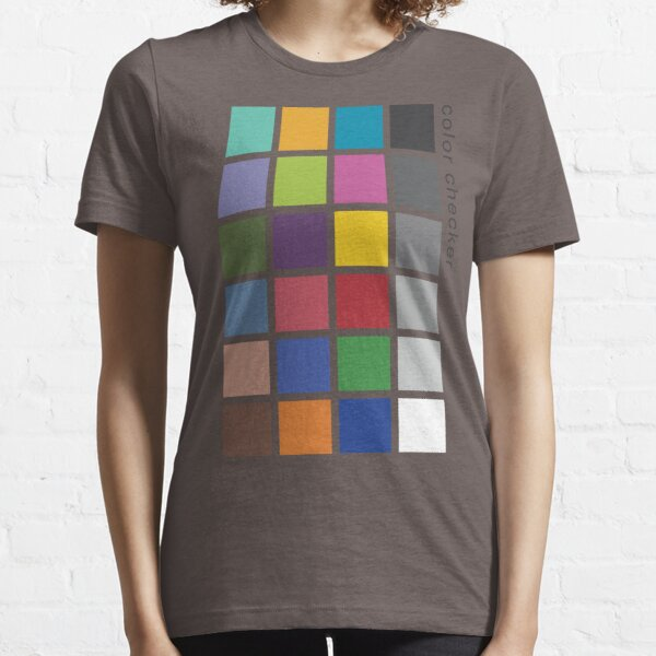Photographer's Color Checker tee Essential T-Shirt