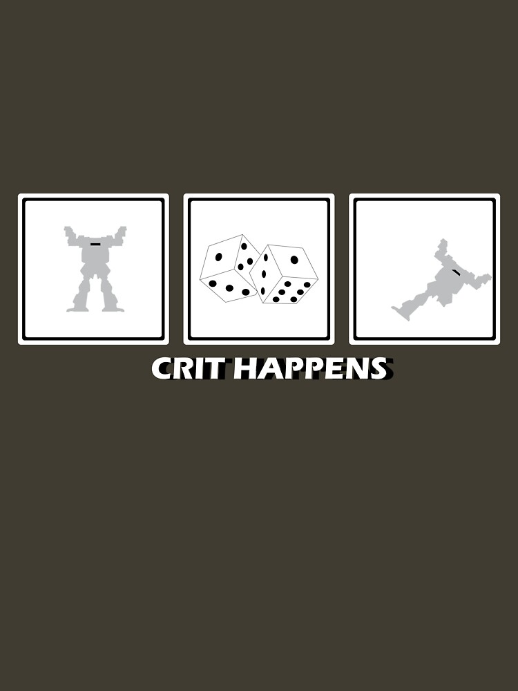 Crit Happens - Firemoth Edition | Unisex T-Shirt