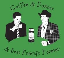 Twin Peaks - Sheriff Harry and Agent Cooper | Unisex T-Shirt