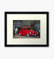 Chris Hickman's Willy's Hot Rod Framed Print