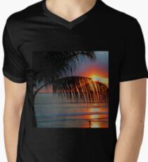Bali Summer Sunset & Surf Men's V-Neck T-Shirt