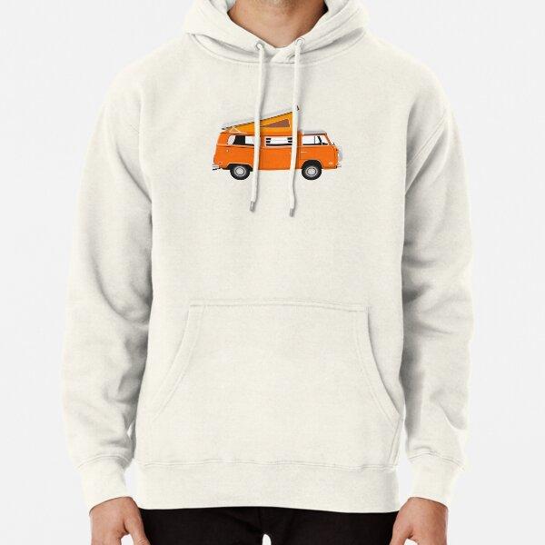 VW Westfalia Van - Orange Pullover Hoodie