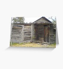 Miner's cottage Greeting Card