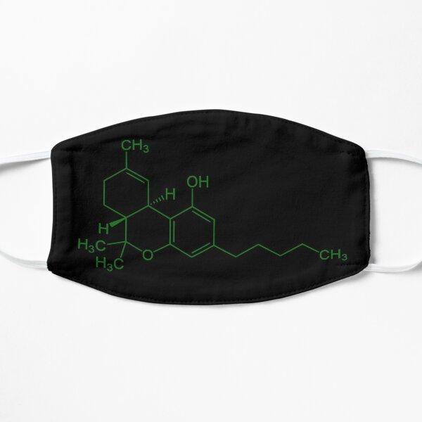 Molécule de THC (vert) Masque taille M/L