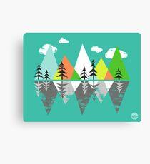 the Crystal Lake Canvas Print