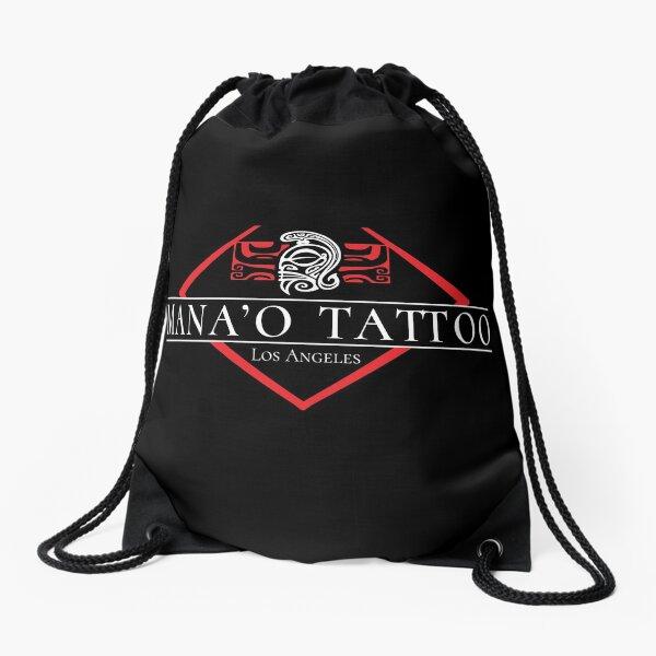 Mana'o Tattoo Los Angeles Drawstring Bag