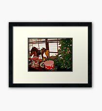Home for the Holidays Framed Print