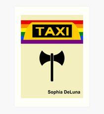 Ebook Cover_Taxi Art Print