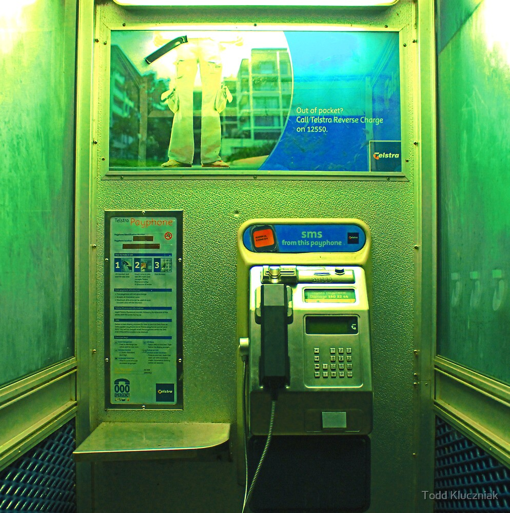 Pay Phone by Todd Kluczniak