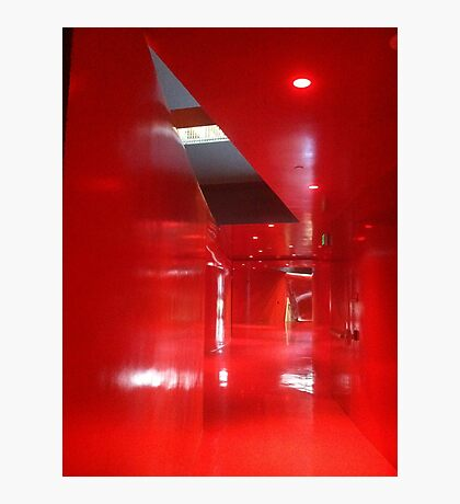 Red level, Seattle Public Library, Central Branch Photographic Print