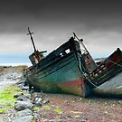 Derelict Fishing Boats, Salen, Isle of Mull, inner Hebrides, Scotland, 2009 by Iain MacLean