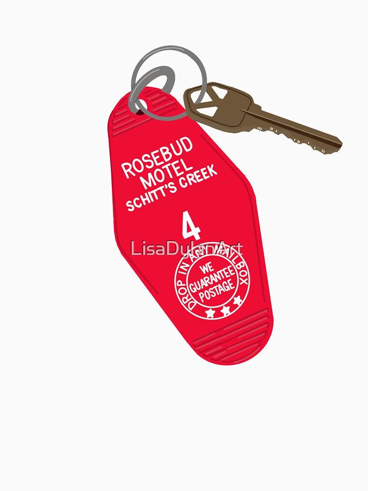 Rosebud Motel Keys by LisaDylanArt