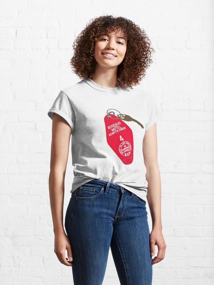 Alternate view of Rosebud Motel Keys Classic T-Shirt
