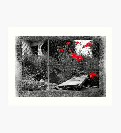 After The Earthquake - Out of the Cracks Art Print