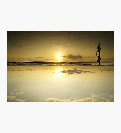 Relax & Reflect Photographic Print