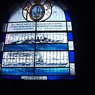 Sea themed stain glass window by AmandaWitt