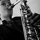 Junior Musician II by Sonja Wells