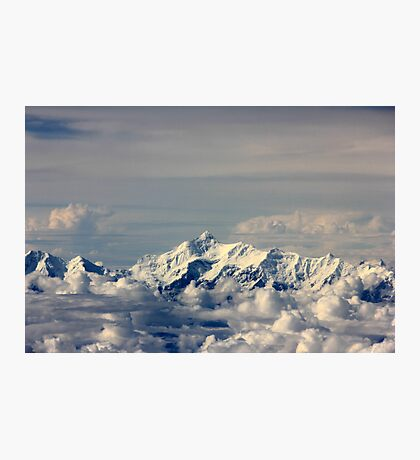 Everest from above.. Photographic Print