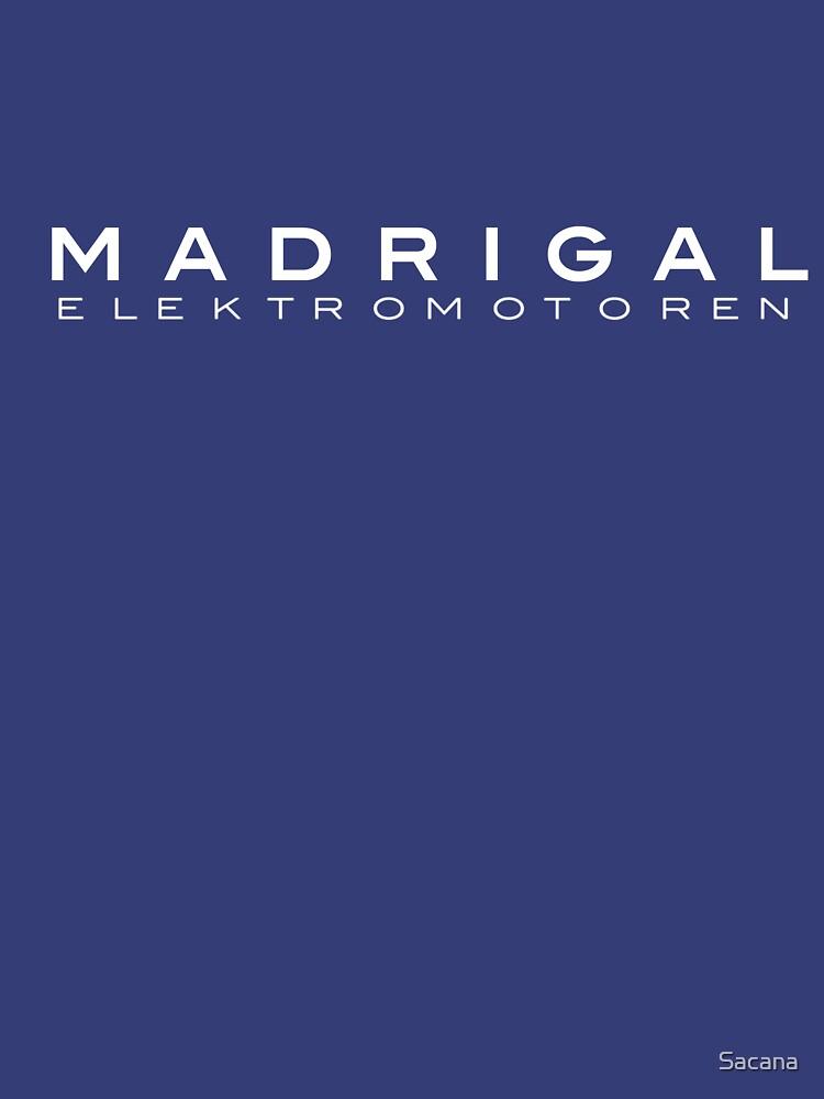 Madrigal Elektromotoren (white) | Unisex T-Shirt