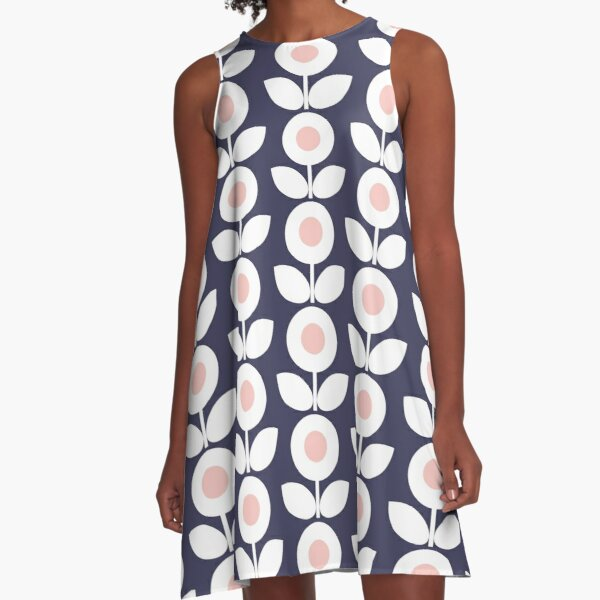 MCM Bloomin' Bluebell A-Line Dress