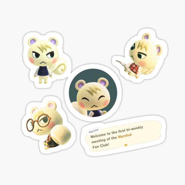 Marshal Animal Crossing Sticker Pack Sticker