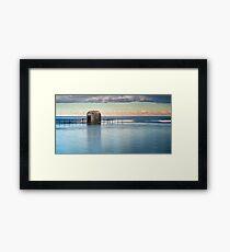 Merewether Ocean Baths - Pump house Framed Print
