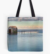 Merewether Ocean Baths - Pump house Tote Bag
