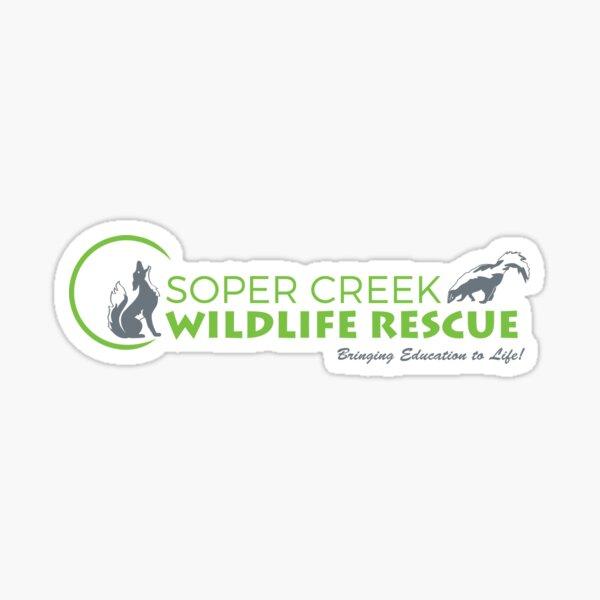 Soper Creek Wildlife Rescue - Bringing Education to Life! Sticker